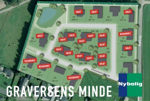 Byggegrunde på Graversens Minde tæt på Horsens